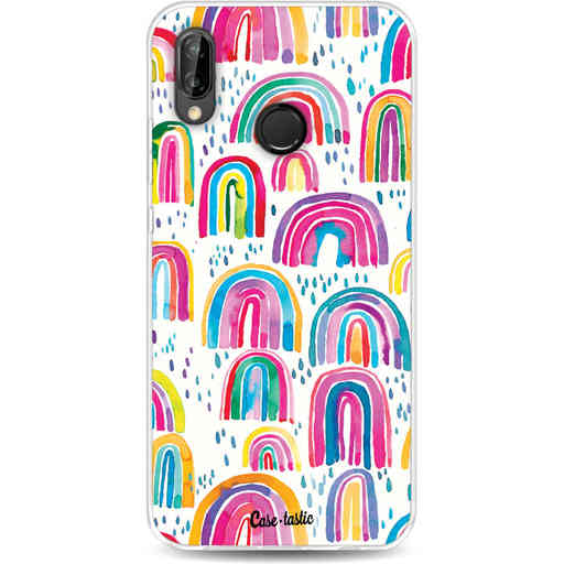 Casetastic Softcover Huawei P20 Lite - Sweet Candy Rainbows