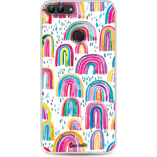 Casetastic Softcover Huawei P Smart - Sweet Candy Rainbows