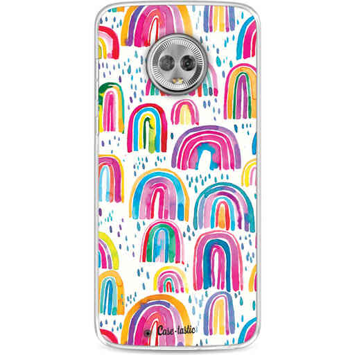 Casetastic Softcover Motorola Moto G6 - Sweet Candy Rainbows