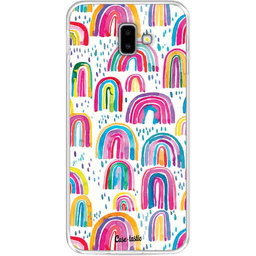 Casetastic Softcover Samsung Galaxy J6 Plus (2018) - Sweet Candy Rainbows