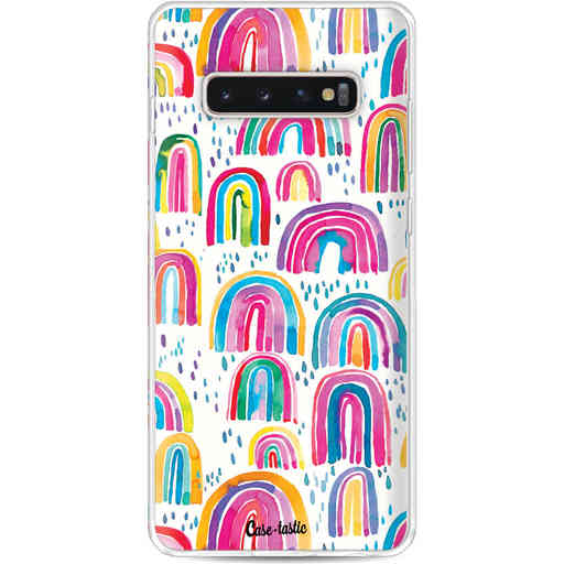 Casetastic Softcover Samsung Galaxy S10 Plus - Sweet Candy Rainbows