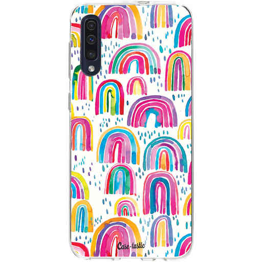 Casetastic Softcover Samsung Galaxy A50 (2019) - Sweet Candy Rainbows