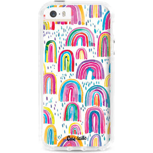 Casetastic Dual Snap Case Apple iPhone 5 / 5s / SE - Sweet Candy Rainbows