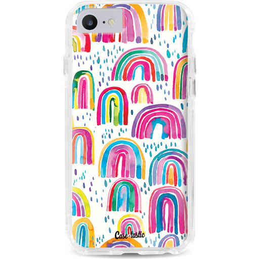 Casetastic Dual Snap Case Apple iPhone 7 / 8 - Sweet Candy Rainbows