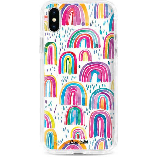 Casetastic Dual Snap Case Apple iPhone X / XS - Sweet Candy Rainbows