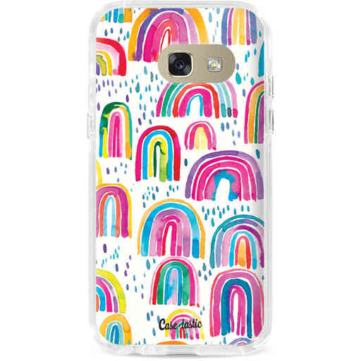 Casetastic Dual Snap Case Samsung Galaxy A3 (2017) - Sweet Candy Rainbows
