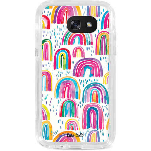 Casetastic Dual Snap Case Samsung Galaxy A5 (2017) - Sweet Candy Rainbows