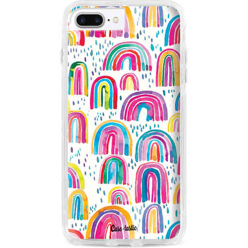 Casetastic Dual Snap Case Apple iPhone 7 Plus / 8 Plus - Sweet Candy Rainbows