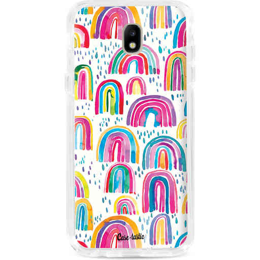 Casetastic Dual Snap Case Samsung Galaxy J7 (2017) - Sweet Candy Rainbows