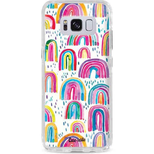 Casetastic Dual Snap Case Samsung Galaxy S8 - Sweet Candy Rainbows