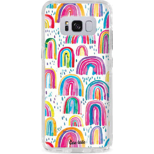 Casetastic Dual Snap Case Samsung Galaxy S8 Plus - Sweet Candy Rainbows