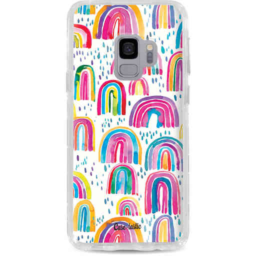 Casetastic Dual Snap Case Samsung Galaxy S9 - Sweet Candy Rainbows