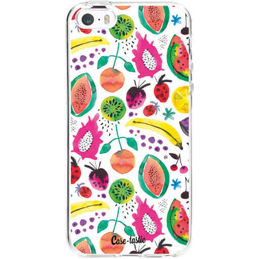Casetastic Softcover Apple iPhone 5 / 5s / SE - Tropical Fruits