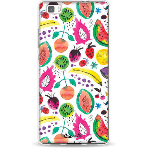 Casetastic Softcover Huawei P8 Lite - Tropical Fruits
