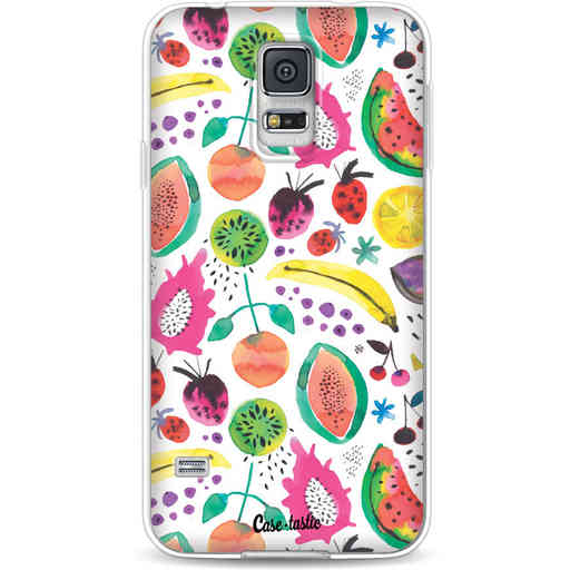 Casetastic Softcover Samsung Galaxy S5  - Tropical Fruits