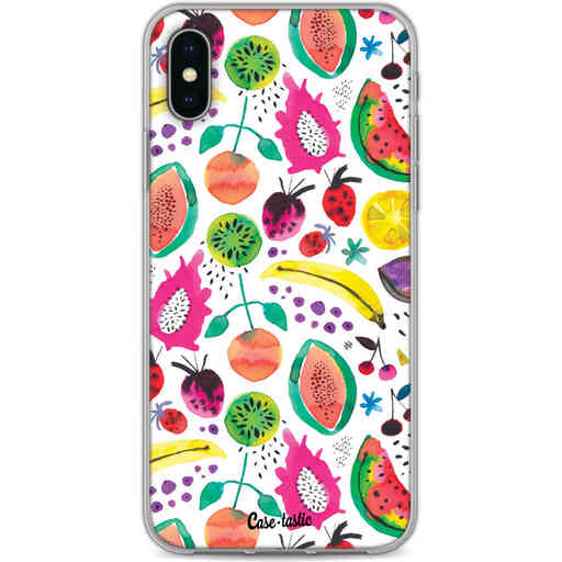 Casetastic Softcover Apple iPhone X / XS - Tropical Fruits