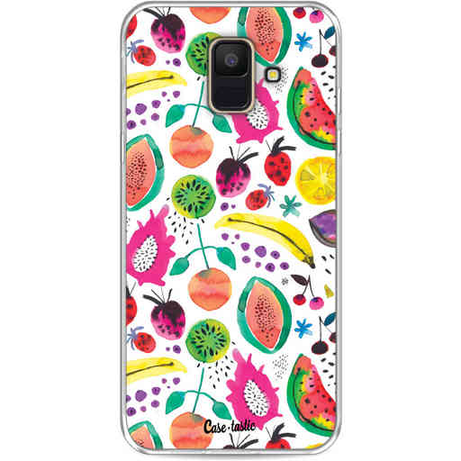 Casetastic Softcover Samsung Galaxy A6 (2018) - Tropical Fruits