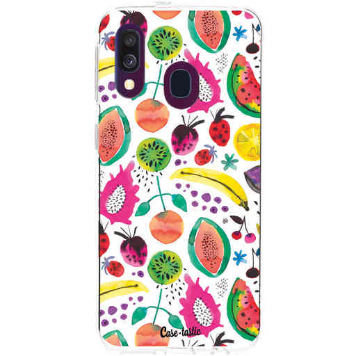Casetastic Softcover Samsung Galaxy A40 (2019) - Tropical Fruits