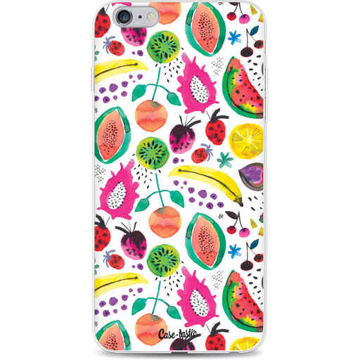 Casetastic Softcover Apple iPhone 6 Plus / 6s Plus - Tropical Fruits