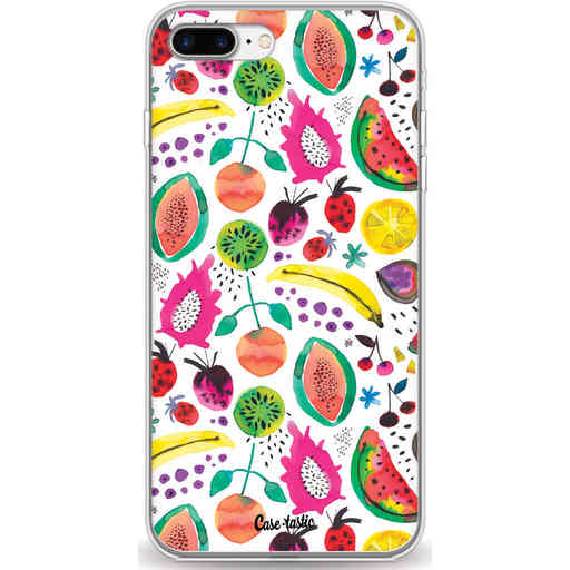 Casetastic Softcover Apple iPhone 7 Plus / 8 Plus - Tropical Fruits