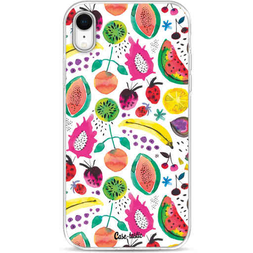Casetastic Softcover Apple iPhone XR - Tropical Fruits