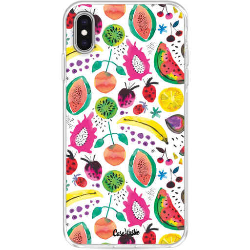 Casetastic Softcover Apple iPhone XS Max - Tropical Fruits