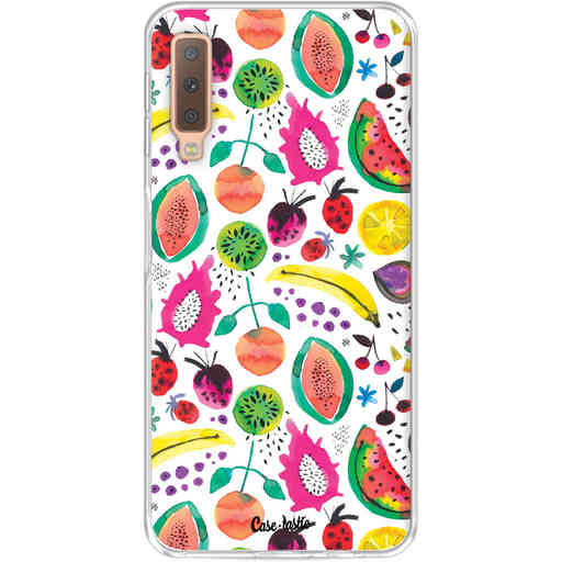 Casetastic Softcover Samsung Galaxy A7 (2018) - Tropical Fruits