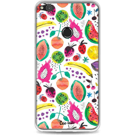 Casetastic Softcover Huawei P8 Lite (2017) - Tropical Fruits