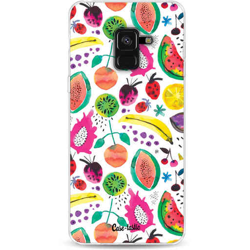 Casetastic Softcover Samsung Galaxy A8 (2018) - Tropical Fruits