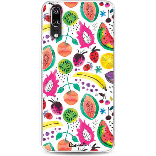 Casetastic Softcover Huawei P20 - Tropical Fruits