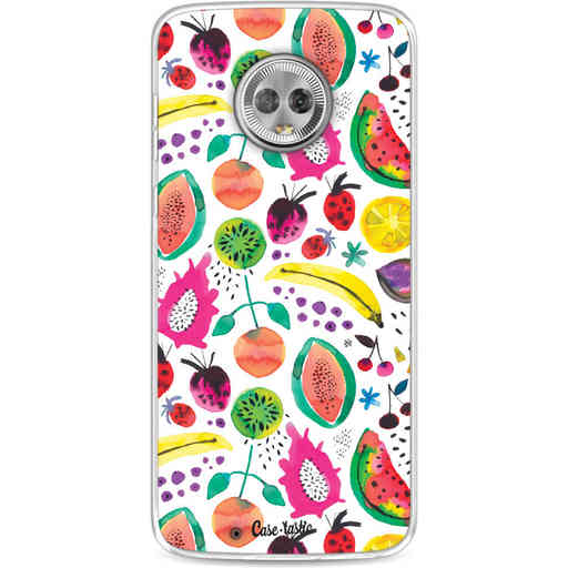 Casetastic Softcover Motorola Moto G6 - Tropical Fruits
