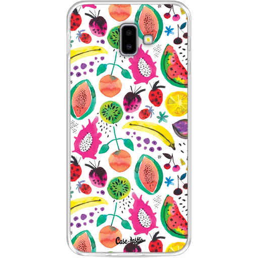 Casetastic Softcover Samsung Galaxy J6 Plus (2018) - Tropical Fruits