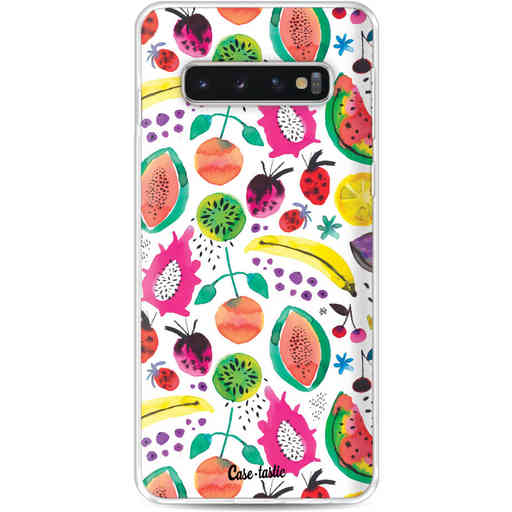Casetastic Softcover Samsung Galaxy S10 - Tropical Fruits