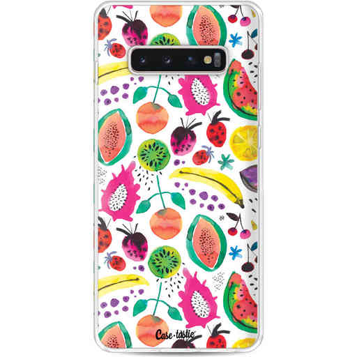 Casetastic Softcover Samsung Galaxy S10 Plus - Tropical Fruits