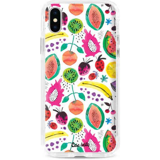 Casetastic Dual Snap Case Apple iPhone X / XS - Tropical Fruits