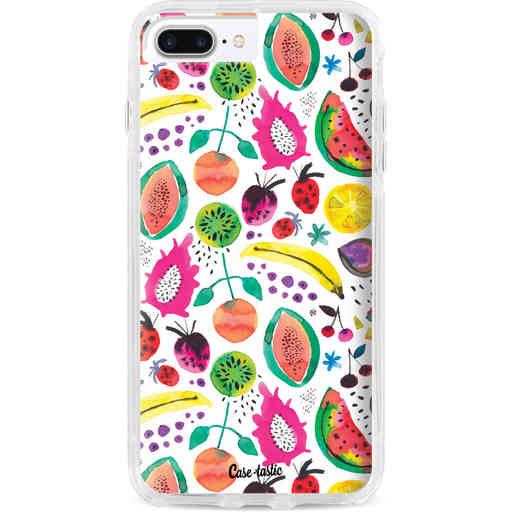 Casetastic Dual Snap Case Apple iPhone 7 Plus / 8 Plus - Tropical Fruits
