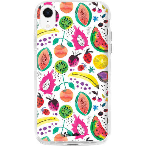 Casetastic Dual Snap Case Apple iPhone XR - Tropical Fruits