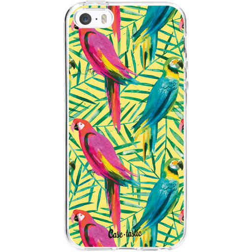 Casetastic Softcover Apple iPhone 5 / 5s / SE - Tropical Parrots