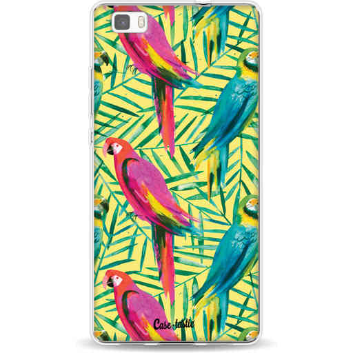 Casetastic Softcover Huawei P8 Lite - Tropical Parrots