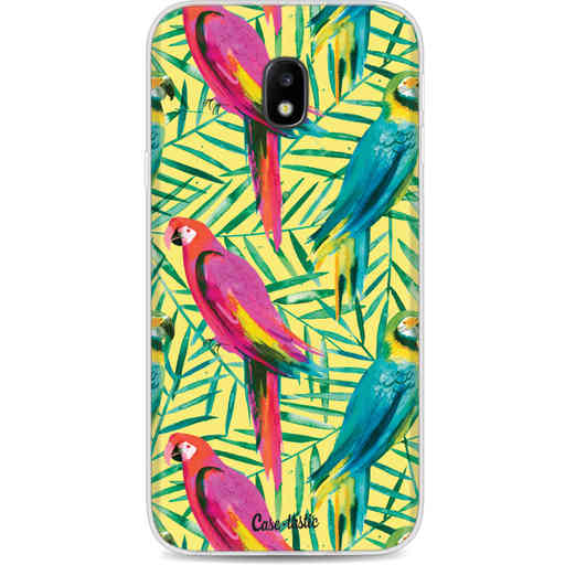 Casetastic Softcover Samsung Galaxy J3 (2017)  - Tropical Parrots