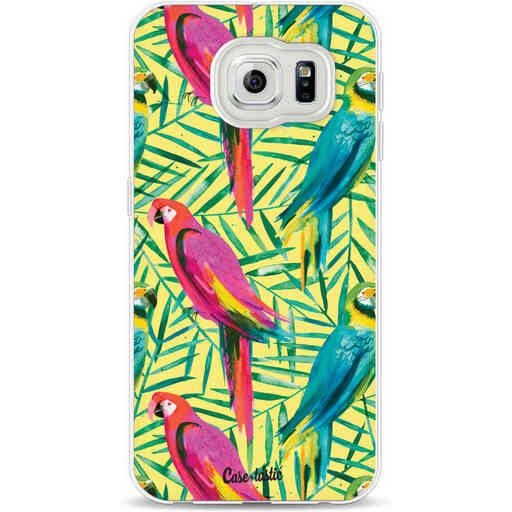 Casetastic Softcover Samsung Galaxy S6 - Tropical Parrots