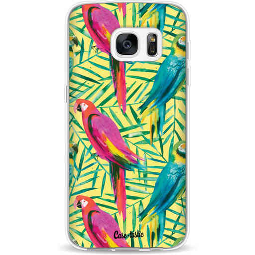 Casetastic Softcover Samsung Galaxy S7 - Tropical Parrots