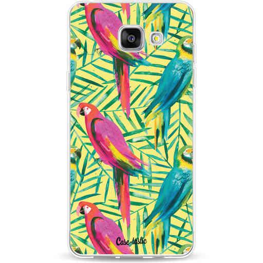 Casetastic Softcover Samsung Galaxy A5 (2016) - Tropical Parrots