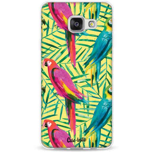 Casetastic Softcover Samsung Galaxy A3 (2016) - Tropical Parrots