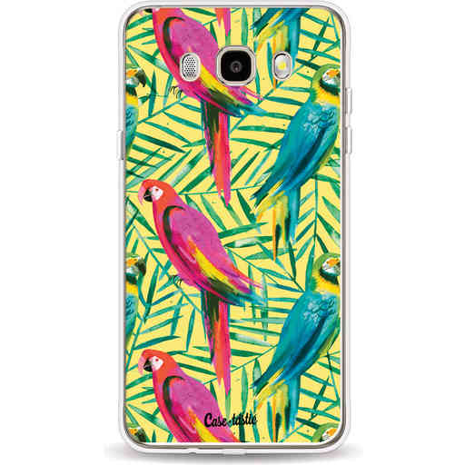 Casetastic Softcover Samsung Galaxy J5 (2016) - Tropical Parrots