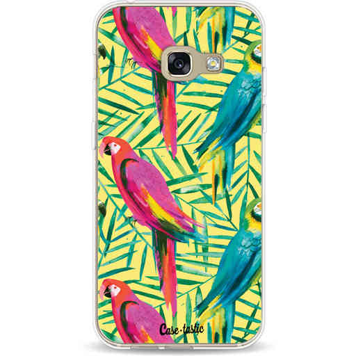 Casetastic Softcover Samsung Galaxy A3 (2017)  - Tropical Parrots