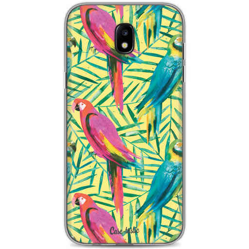 Casetastic Softcover Samsung Galaxy J5 (2017) - Tropical Parrots