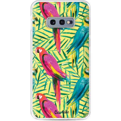Casetastic Softcover Samsung Galaxy S10e - Tropical Parrots