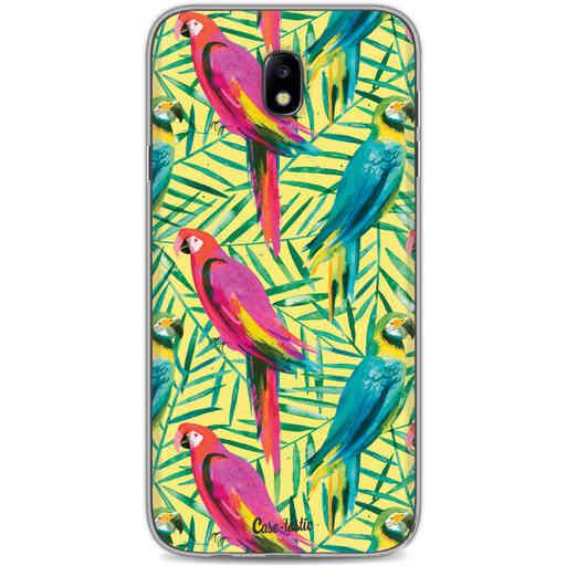 Casetastic Softcover Samsung Galaxy J7 (2017) - Tropical Parrots