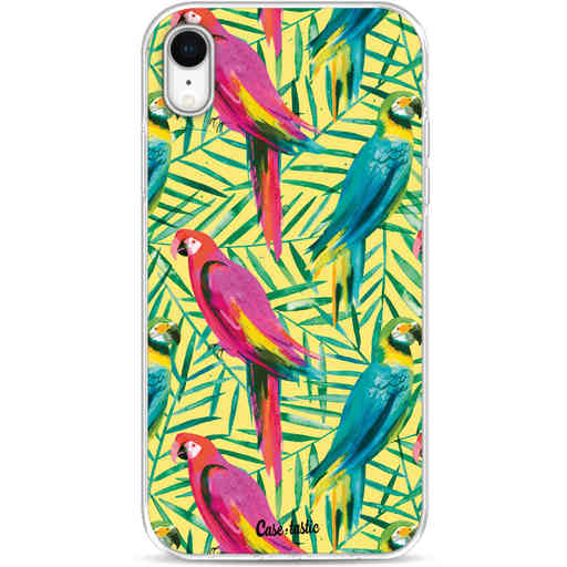Casetastic Softcover Apple iPhone XR - Tropical Parrots